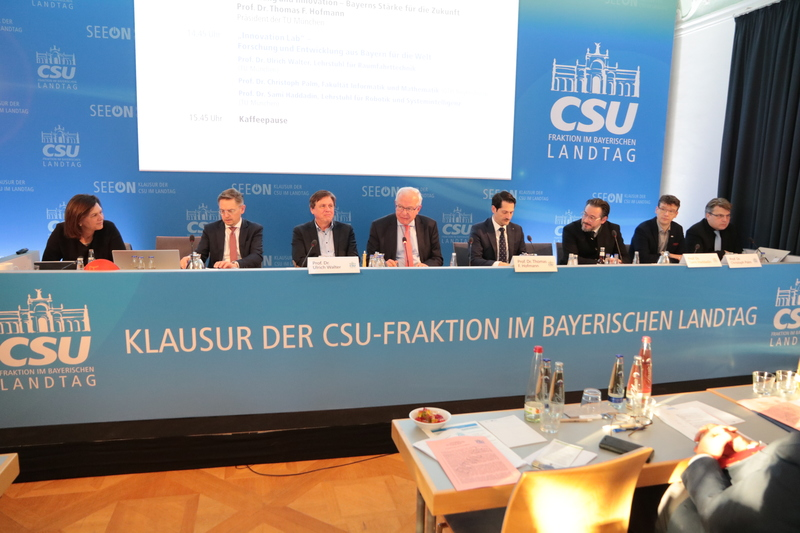 """Innovation Lab"" in Seeon. Foto: CSU-Fraktion"