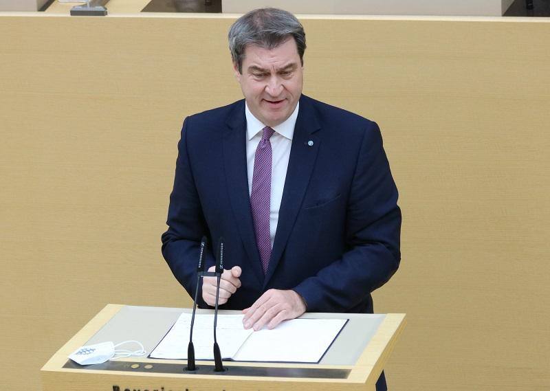 Ministerpräsident Dr. Markus Söder. Bild: CSU-Fraktion